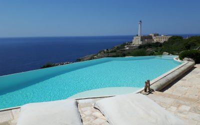 Realizzazione e Costruzione Piscine a Sfioro nel Salento Puglia